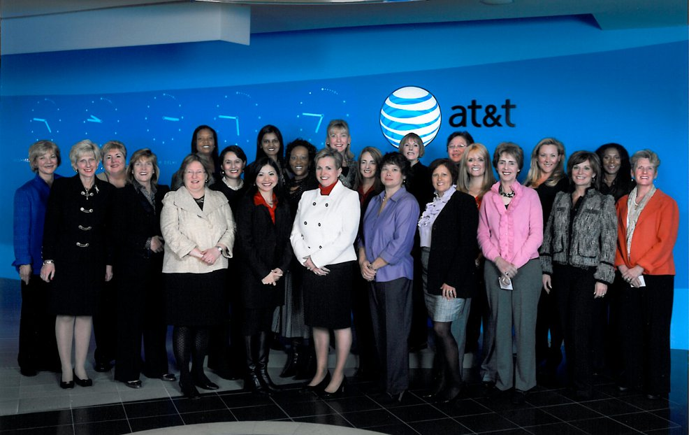AT&T Women's  Forum Group Photo